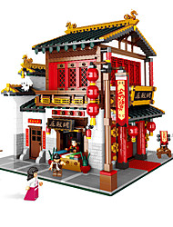 cheap -Building Blocks 1 pcs Chinese Architecture compatible ABS+PC Legoing Simulation All Toy Gift / Kids