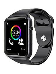 Недорогие -a1 наручные часы bluetooth умные часы спорт шагомер поддержка sim tf карта для смартфонов android смартфон smartwatch