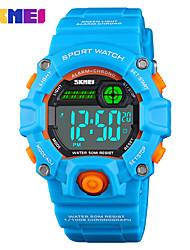 Недорогие -Skmei 1484 открытый моды ночник спортивные многофункциональные индивидуальные водонепроницаемые электронные часы