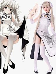 cheap -Inspired by Yosuga no Sora Kasugano Sora Anime Cosplay Costumes Japanese Dresses Dress For Women's