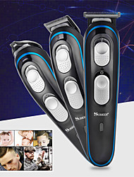 cheap -Europlug 3 In 1 Professional Rechargeable Hair Trimmers Clipper Electric Haircut Shaver Barber Hair Cutting Styling Machine For Trimming