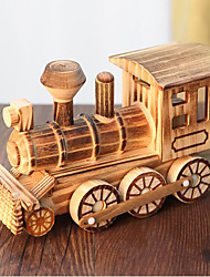 cheap -Toy Trains & Train Sets Train Train Office Desk Toys Simulation Wooden Kid's Kids All Toy Gift 1 pcs