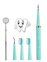 Недорогие -комплект для чистки зубов отбеливание зубов чистящие пятна скребок для удаления зубное зеркало высокочастотная вибрация зубная щетка