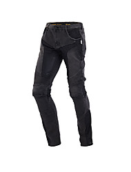 cheap -Practical Motorcycle Jeans with Protector Racing Car Trousers Shinguard Stylish Long Pants