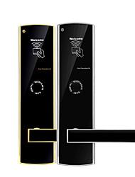 abordables -Factory OEM KD8501 Acier inoxydable Verrouillage de carte Smart Home Security Android Système RFID Maison / Maison / Bureau Porte en bois / Porte composite (Mode de déverrouillage Carte)