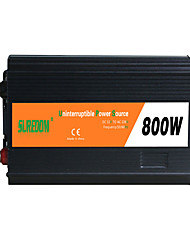 Недорогие -suredom автомобильный инвертор постоянного тока 12 В переменного тока 220 В / постоянного тока 24 В переменного тока 220 В / постоянного тока 12 В переменного тока 110 В 12/24 В 800 Вт для