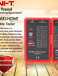 cheap -UNI-T UT681HDMI cable tester HDMI / MINI-HDMI high-definition data cable tester manual / automatic shutdown