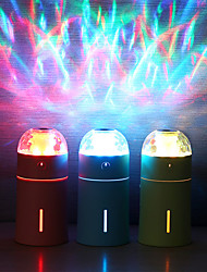 cheap -1PC USB powered Air Humidifier Eliminate Static Electricity Clean Air Care For Skin Nano Spray Technology Mute Design 7 Color Lights Car Office
