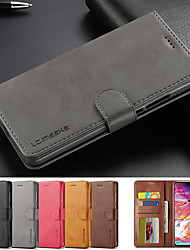 cheap -Leather Flip Stand Magnetic Wallet Phone Case For Samsung Galaxy A90 A80 A60 A20e Cover Card Holder