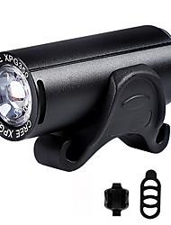 Недорогие -Светодиодная лампа Велосипедные фары Передняя фара для велосипеда Фонарь CREE XPG Горные велосипеды Велоспорт Велоспорт Водонепроницаемый Несколько режимов Супер яркий Безопасность Литий-ионная 350 lm