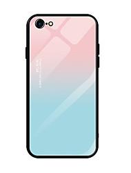 Недорогие -Кейс для Назначение Apple iPhone XS / iPhone XR / iPhone XS Max Ультратонкий / С узором Кейс на заднюю панель Пейзаж / Градиент цвета Закаленное стекло