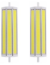 Недорогие -2pcs 25 W Люминесцентная лампа 2500 lm R7S T 1 Светодиодные бусины COB Диммируемая Новый дизайн Тёплый белый Белый 220-240 V 110-120 V