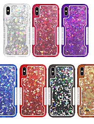 cheap -Case For Apple iPhone XS / iPhone XR / iPhone XS Max Shockproof / Dustproof / Water Resistant Back Cover Scenery / Animal / Glitter Shine TPU / PC
