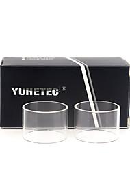 Недорогие -замена стеклянной трубки yuhetec для wotofo змей мини 22 2 мл 2шт