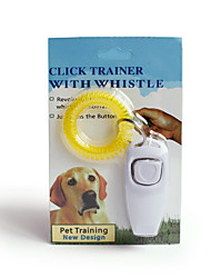 cheap -Dog Training Health Care Simple Portable Squeak / Squeaking Dog Portable Mini Trainer Plastic ABS+PC Whistles Behaviour Aids 2 in 1 For Pets / Safety