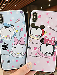 cheap -Case For Apple iPhone XS / iPhone XR / iPhone XS Max Ultra-thin / Pattern Back Cover Animal / Cartoon TPU