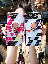 cheap -Case For Apple iPhone XS / iPhone XR / iPhone XS Max Dustproof / with Stand / Pattern Back Cover Geometric Pattern Silica Gel