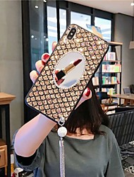 cheap -Case For Apple iPhone XS / iPhone XR / iPhone XS Max/7 8 plus /6splus 6 Shockproof / Rhinestone / Mirror Back Cover Glitter Shine Acrylic