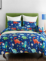 cheap -Duvet Cover Sets Animal / Cartoon Polyester / Polyamide Printed 3 PieceBedding Sets