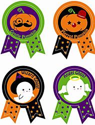 Недорогие -80 шт. Хэллоуин бумажные наклейки праздничные украшения партии запечатывание стикер хэллоуин поставки 4.8 * 3.5 см