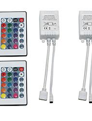 abordables -2pcs 12 V WiFi / Télécommandé / Accessoire d'ampoule Plastique Manette pour la lumière de bande de LED RVB / pour la bande LED