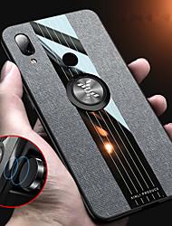 Недорогие -тканевый магнитный держатель для колец мягкая рамка тканевый чехол для xiaomi redmi note 7 redmi note 5 redmi 7 силиконовый край тпу