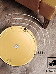 cheap -Robot Vacuum Cleaner with Water Tank Mop Cost-Effective Automatic Remote Control for Pet Hair Carpets Hard Floor Low Noise Surfaces SM2720-1108