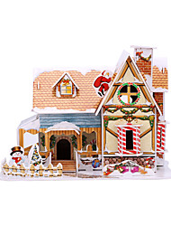 cheap -3D Puzzle Christmas 3D Cartoon 1 pcs Kids All Toy Gift