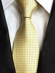 abordables -Homme Soirée / Travail Cravate Pied-de-poule