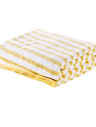 cheap -Superior Quality Bath Towel, Striped Cotton / Linen Blend 1 pcs