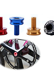 cheap -Screws For Mountain Bike MTB / Folding Bike / Fixed Gear Bike 7075 Aluminium Alloy High Strength / Durable / Easy to Install Cycling Bicycle Black Gold Red