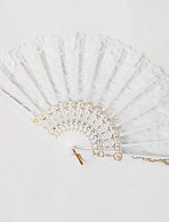 cheap -Hand Fans Plastic Split Joint Wedding