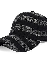 cheap -Men's Basic Polyester Baseball Cap-Color Block Black Wine White