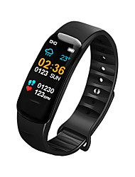 cheap -Indear C2 Men Women Smart Bracelet Smartwatch Android iOS Bluetooth Waterproof Touch Screen Heart Rate Monitor Blood Pressure Measurement Sports Timer Pedometer Call Reminder Activity Tracker Sleep