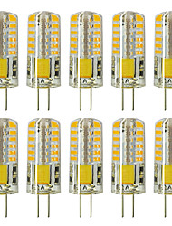 cheap -ZDM 10pcs G4 5W 3014 x 48 LEDs White Light Lamps AC12V Non-dimmable Equivalent to 20W-25W T3 Halogen Track Bulb Replacement LED Bulbs