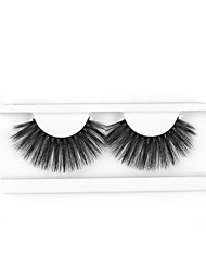 cheap -Neitsi One Pair 6D Synthetic False Eyelashes Black Women Girls Makeup Party Eyelashes Extensions DH053