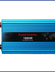 cheap -1000W Dual USB Onboard Inverter DC 24V to AC 220V Car Power Inverter