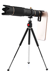cheap -Universal Clip HD36X Zoom Cell Phone Telescope Lens Telephoto External Smartphone Camera Lens For iPhone Samsung Huawei