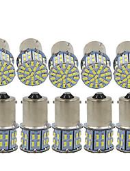 Недорогие -10 шт. 1156 / 1157 Автомобиль Лампы SMD 3014 50 Светодиодная лампа Лампа поворотного сигнала / Тормозные огни / Фонари заднего хода (резервные) Назначение Универсальный Все года