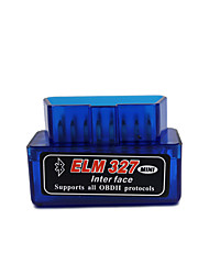 cheap -Mini Elm327 Bluetooth OBD2 V2.1 OBD 2 Car Diagnostic-Tool Scanner Elm327 OBDII Adapter Auto Diagnostic Tool Car code Reader