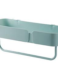 cheap -Bathroom Shelf New Design / Cool Modern PVC(PolyVinyl Chloride) 1pc Wall Mounted