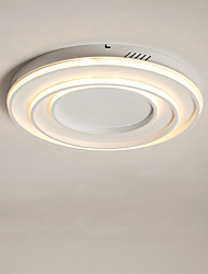 cheap -58 cm CONTRACTED LED® 3-Light Linear / Geometrical Flush Mount Lights Ambient Light Painted Finishes Metal LED, New Design 110-120V / 220-240V Warm White / White