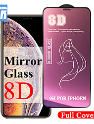 cheap -8d luxury mirror protective glass on the for iphone 7 8 6 6s plus screen protector for iphone x xs max xr tempered glass film