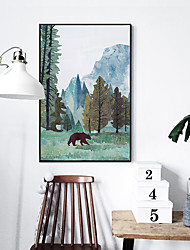 cheap -Framed Canvas - Travel PS Oil Painting Wall Art