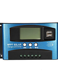 cheap -40A MPPT Solar Controller LCD Solar Charge Controller Accuracy Dual USB Solar Panel Battery Regulator - 40A