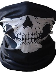 cheap -Halloween Skull Masks Outdoor Motorcycle Bicycle Multi Function Neck Warm