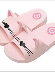 cheap -Girls' Comfort PVC Slippers & Flip-Flops Little Kids(4-7ys) Black / Blue / Pink Summer