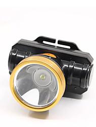 abordables -phares feux de secours led led 1 émetteurs 600 lm manuel 1 mode avec chargeur rotatif portable coupe-vent camping / randonnée / spéléologie utilisation quotidienne chasse noire