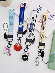 cheap -Bag / Phone / Keychain Charm Phone Strap / Lovely PVC(PolyVinyl Chloride) Universal / iPhone 8 Plus / 7 Plus / 6S Plus / 6 Plus