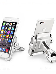 cheap -360 Degree Universal Aluminium Alloy Motorcycle Modified Phone Holder Cool Styling 360 Rotation Bracket Handlebar Phone Holder Stand Mount For iPhone Xiaomi Samsung Huawei 4-6.4